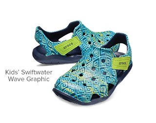 Kids' Swiftwater Wave Graphic