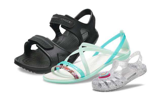 Go out and play in our updated line of active, water-friendly sandals for the entire family!