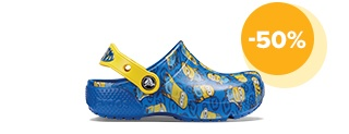 "Kids' Crocs Fun Lab Minionsâ""¢ Graphic Clogs"