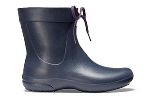 Women's Crocs Freesail Shorty Rain Boot