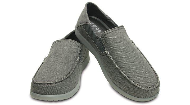 クロックス 公式オンラインショップ【クロックス公式】 サンタクルーズ 2.0 ラックス メン santa cruz 2.0 luxe men メンズ、紳士、男性用 グレー/グレー 25cm,28cm loafer ローファー 靴