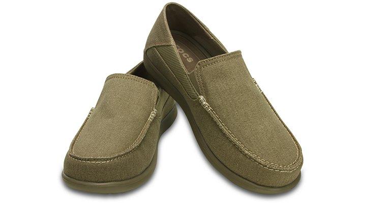 【クロックス公式】 サンタクルーズ 2.0 ラックス メン Men's Santa Cruz 2 Luxe Loafer メンズ、紳士、男性用 ブラウン/茶 25cm,26cm,27cm,28cm,29cm loafer ローファー 靴