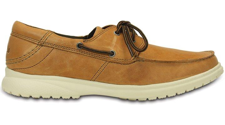 Crocs Canvas Boat Shoes Mens