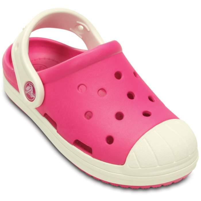 Crocs Kids' Bump It Clog Candy Pink / Oyster