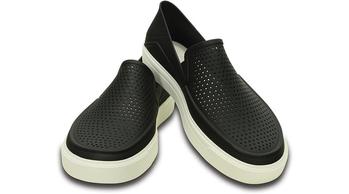 【クロックス公式】 シティレーン ロカ スリップオン CitiLane Roka Slip-ons メンズ、紳士、男性用 ブラック/黒 23cm,24cm,25cm,26cm,27cm,28cm,29cm,30cm,31cm shoe 靴 シューズ