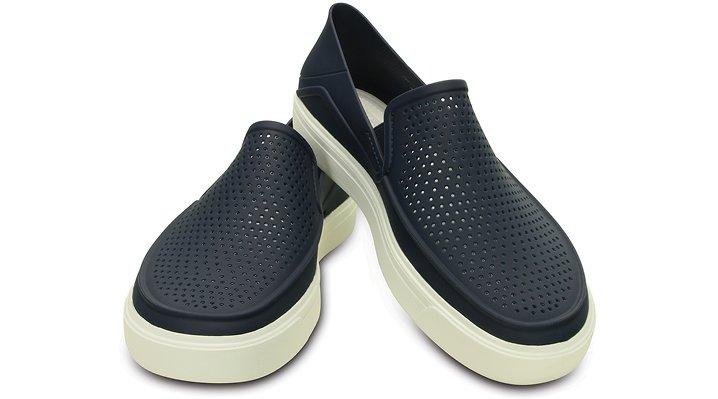 【クロックス公式】 シティレーン ロカ スリップオン CitiLane Roka Slip-ons メンズ、紳士、男性用 ブルー/青 23cm,24cm,25cm,26cm,27cm,28cm,29cm,30cm,31cm shoe 靴 シューズ