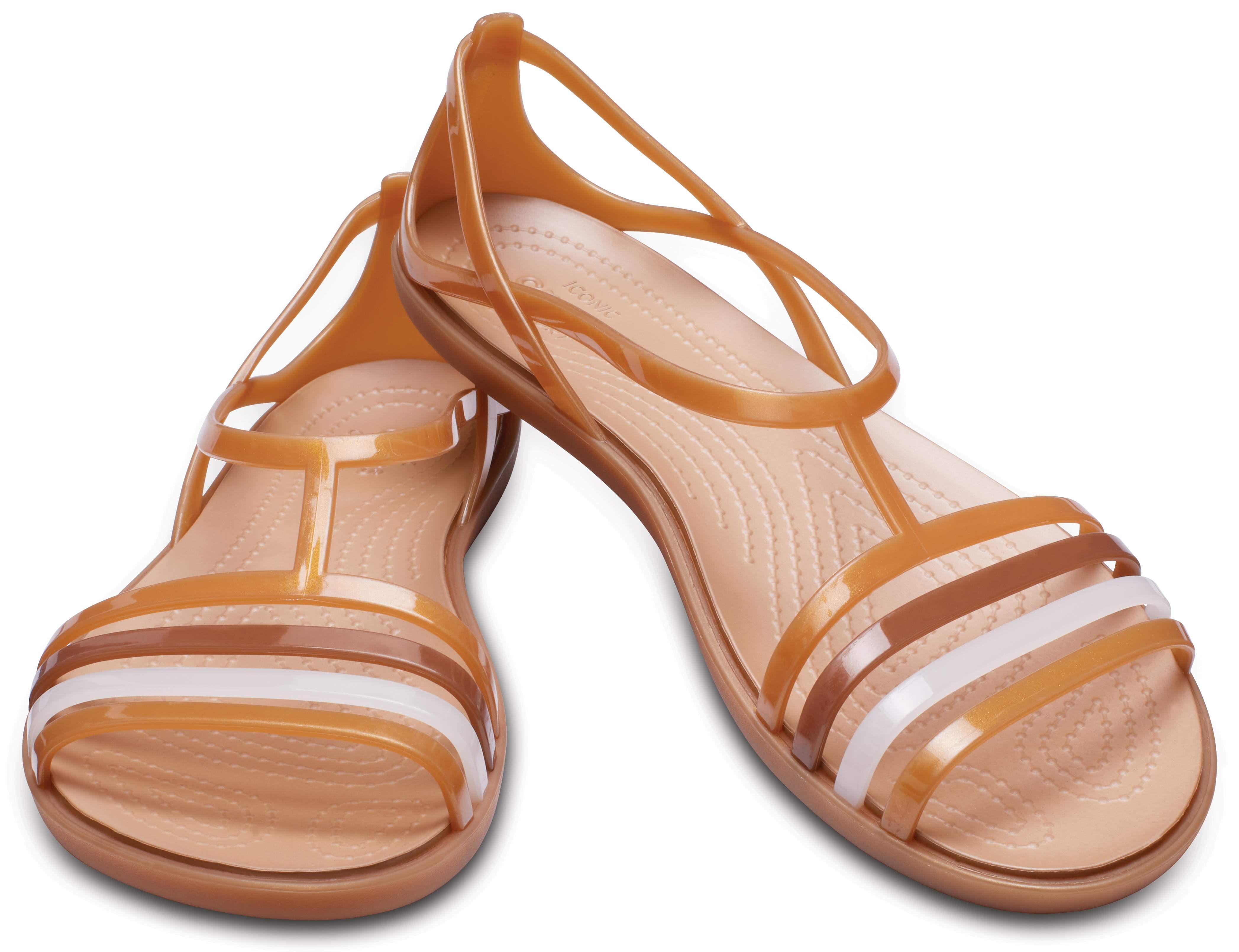 【クロックス公式】 クロックス イザベラ サンダル ウィメン Women's Crocs Isabella Sandal ウィメンズ、レディース、女性用 ブラウン/茶 22cm,23cm,24cm,25cm sandal サンダル