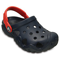 Crocs Blue Kids Clog Shoes
