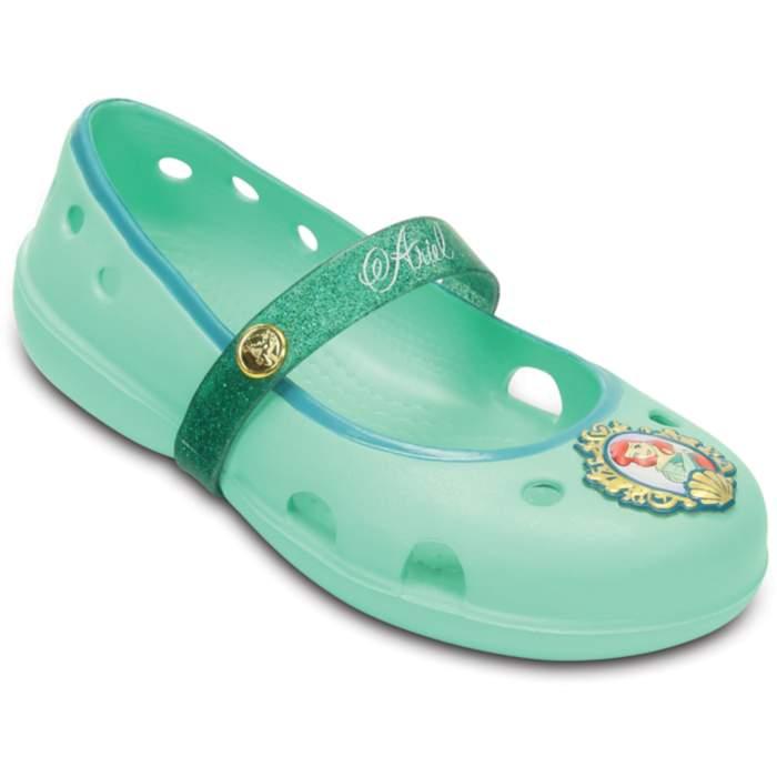Crocs Kids' Keeley Disney Princess Flat New Mint