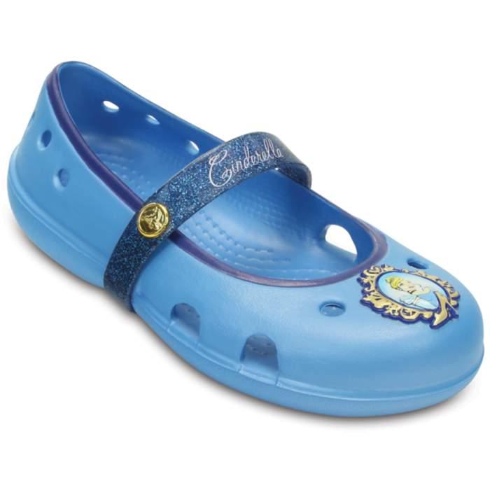 Crocs Kids' Keeley Disney Princess Flat Bluebell