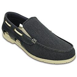 Crocs Mens Beach Line Canvas Slip-On Shoes - Multi Colors