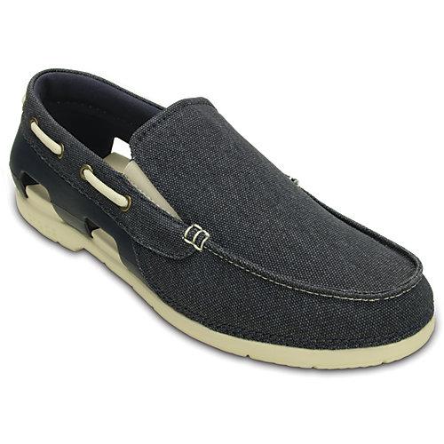 Crocs Mens Beach Line Canvas Shoes