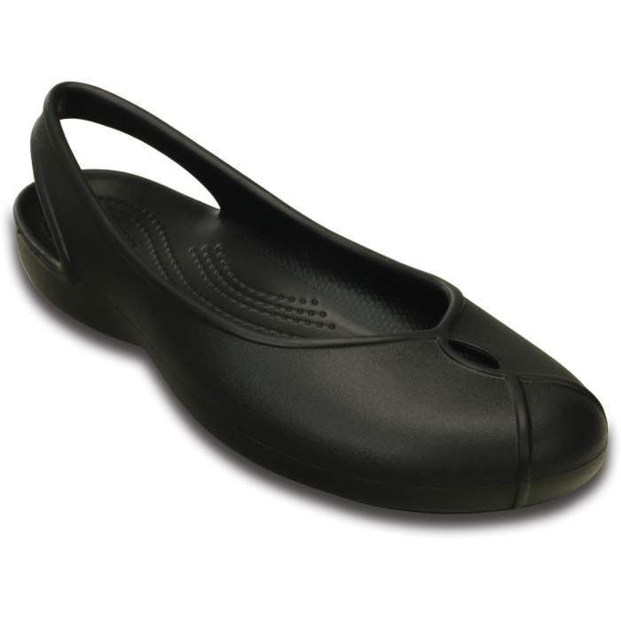 Crocs Women's Olivia II Flat Black