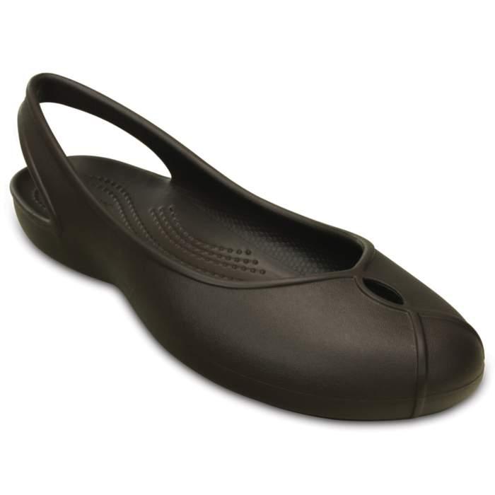 Crocs Women's Olivia II Flat Brown