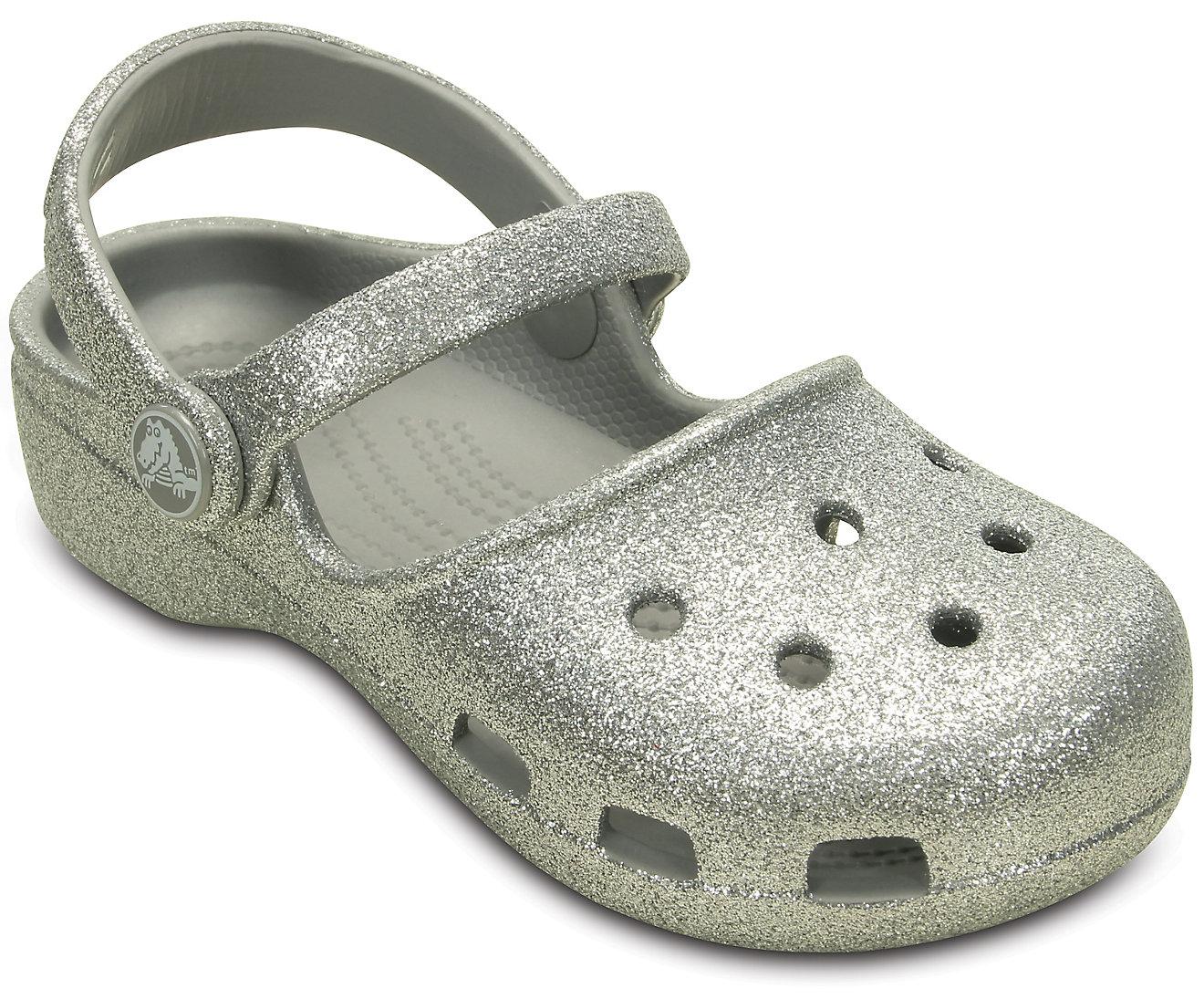 Girls' Crocs Karin Sparkle Clog
