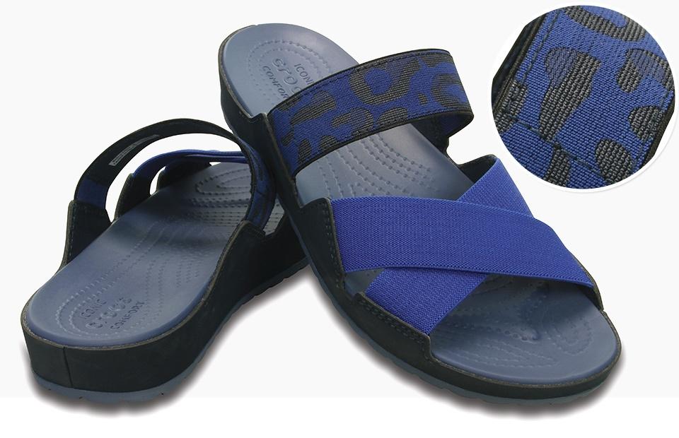 New Crocs MODI 20 Slide Casual Shoes In WalnutEspresso For Women