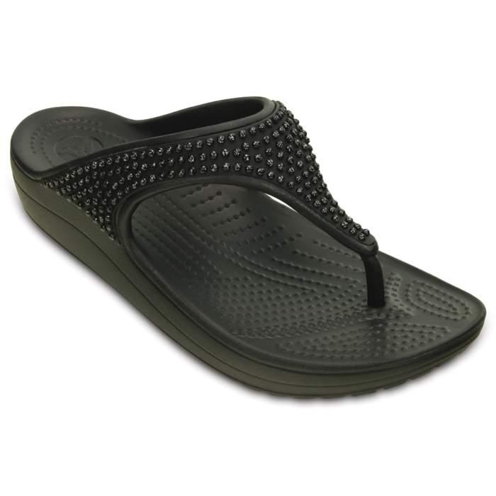 Crocs Women's Crocs Sloane Diamante Flip Black