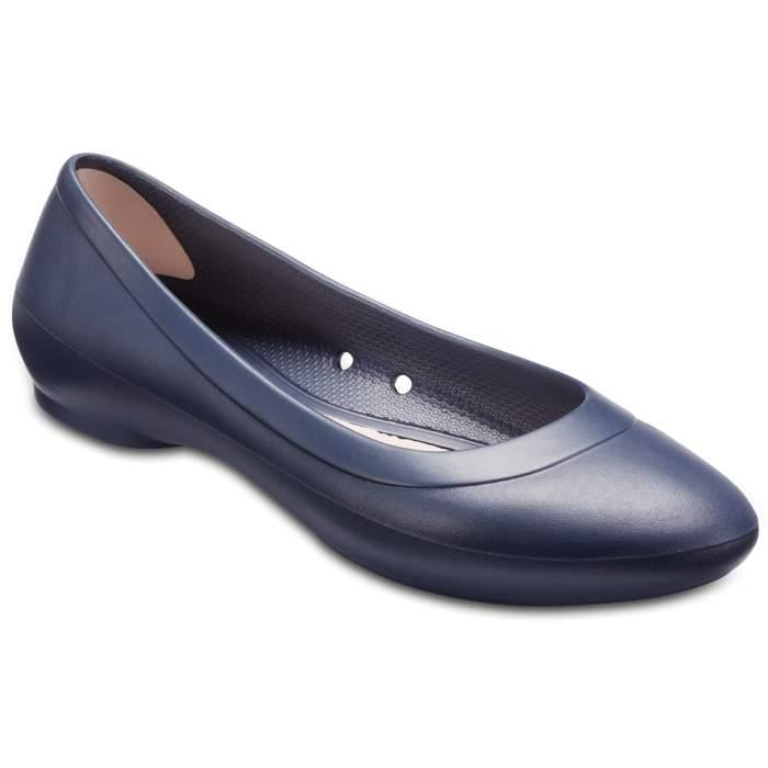 Crocs Women's Crocs Lina Flat Navy Blue