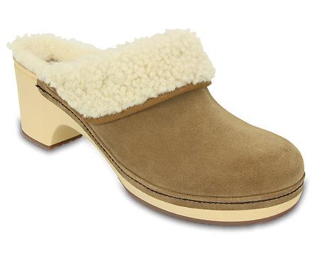 Women's Crocs Sarah Luxe Shearling Lined Clog