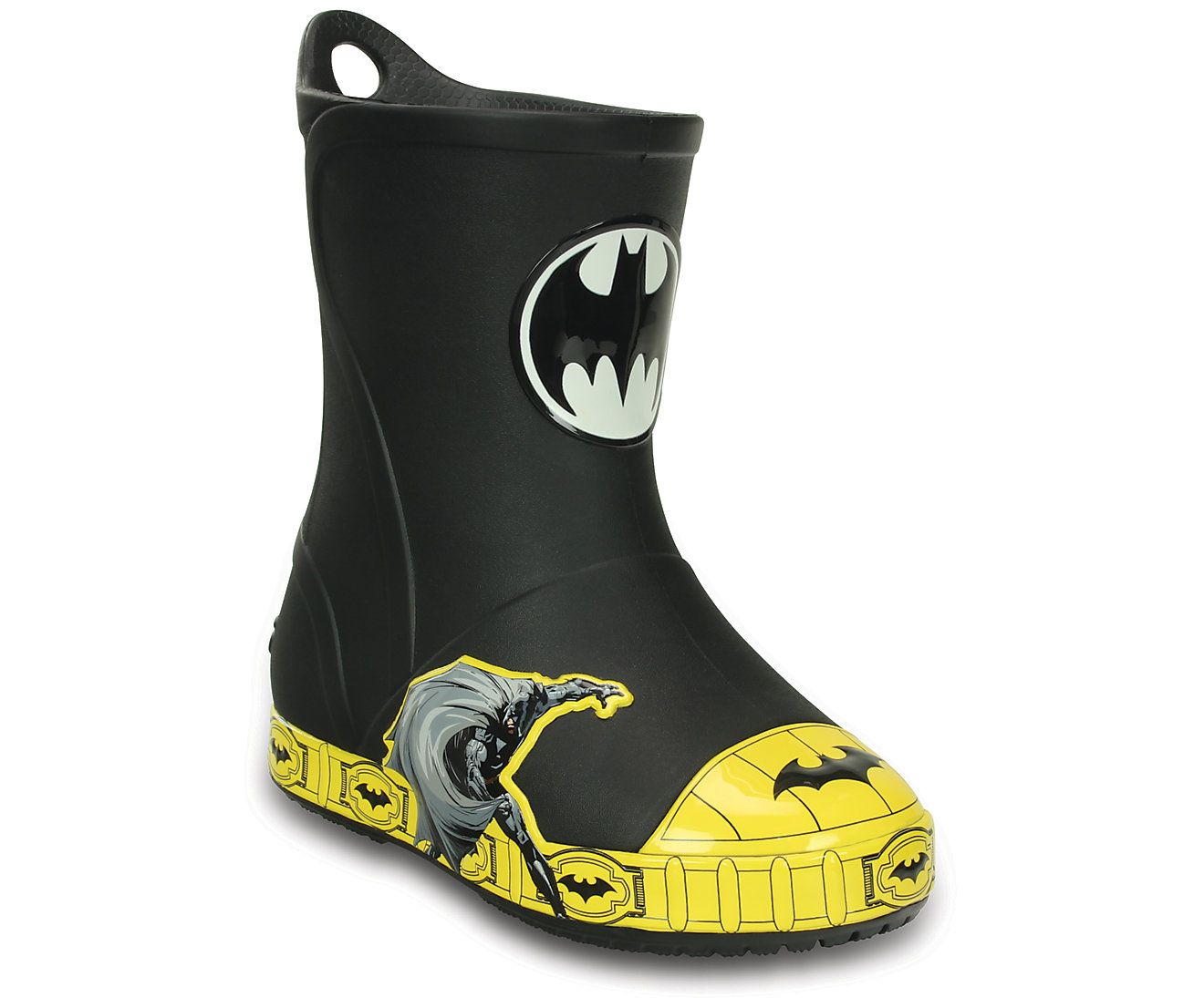 Kids' Crocs Bump It Batman™ Rain Boot