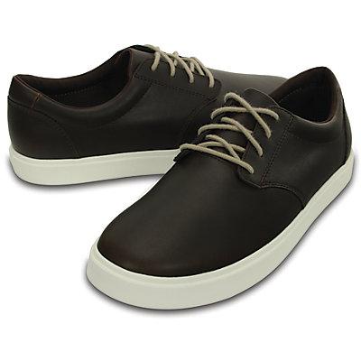 Crocs Men's CitiLane Leather Lace-up Brown