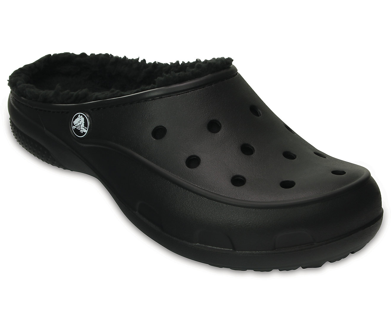 Women's Crocs Freesail Plush Fuzz Lined Clog