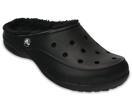 Women's Crocs Freesail Plush Fuzz Lined Clog