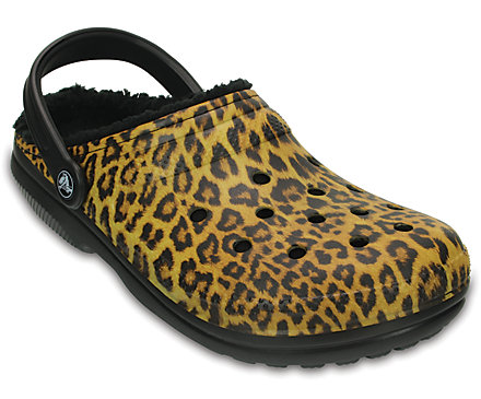 Classic Fuzz Lined Graphic Clog