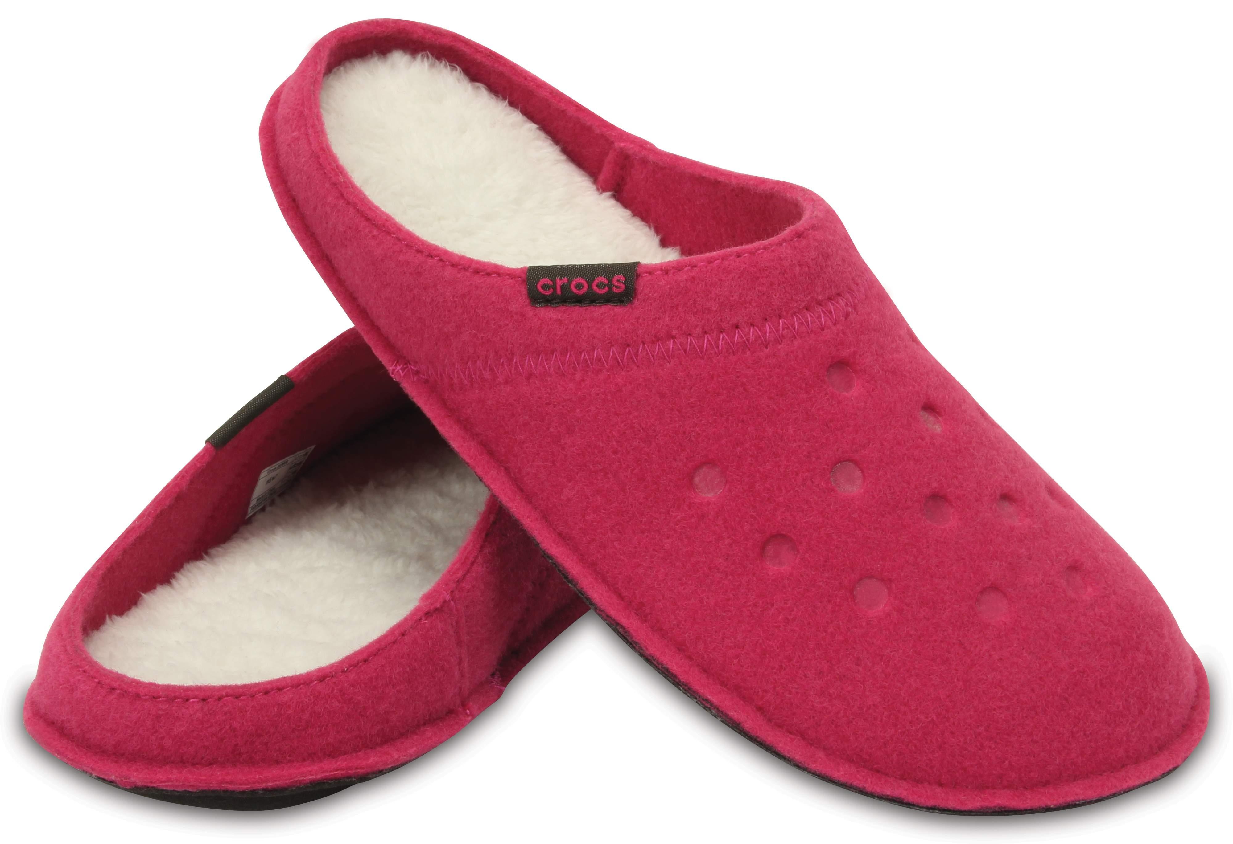 【クロックス公式】 クラシック スリッパ Classic Slipper ユニセックス、メンズ、レディース、男女兼用 レッド/赤 22cm,24cm,26cm slipper