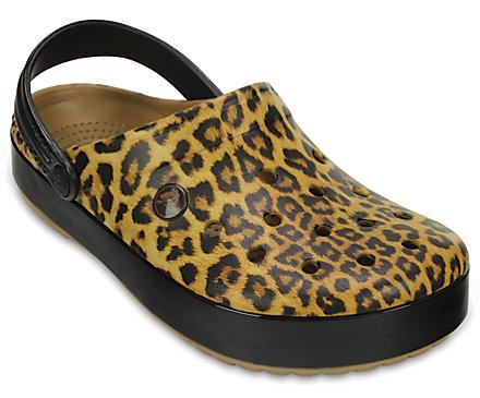 Crocband™ Leopard II Clog