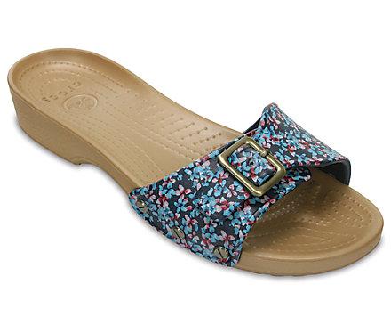 Women's Crocs Sarah Graphic Sandal