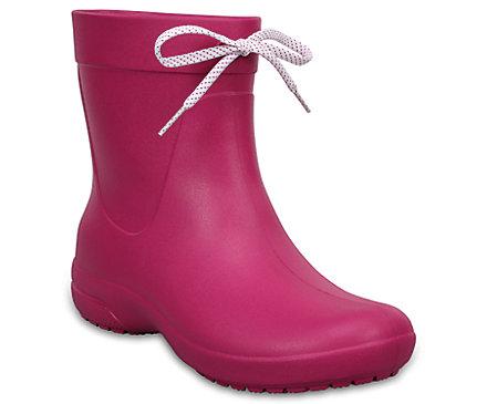 Women's Crocs Freesail Shorty Rain Boots