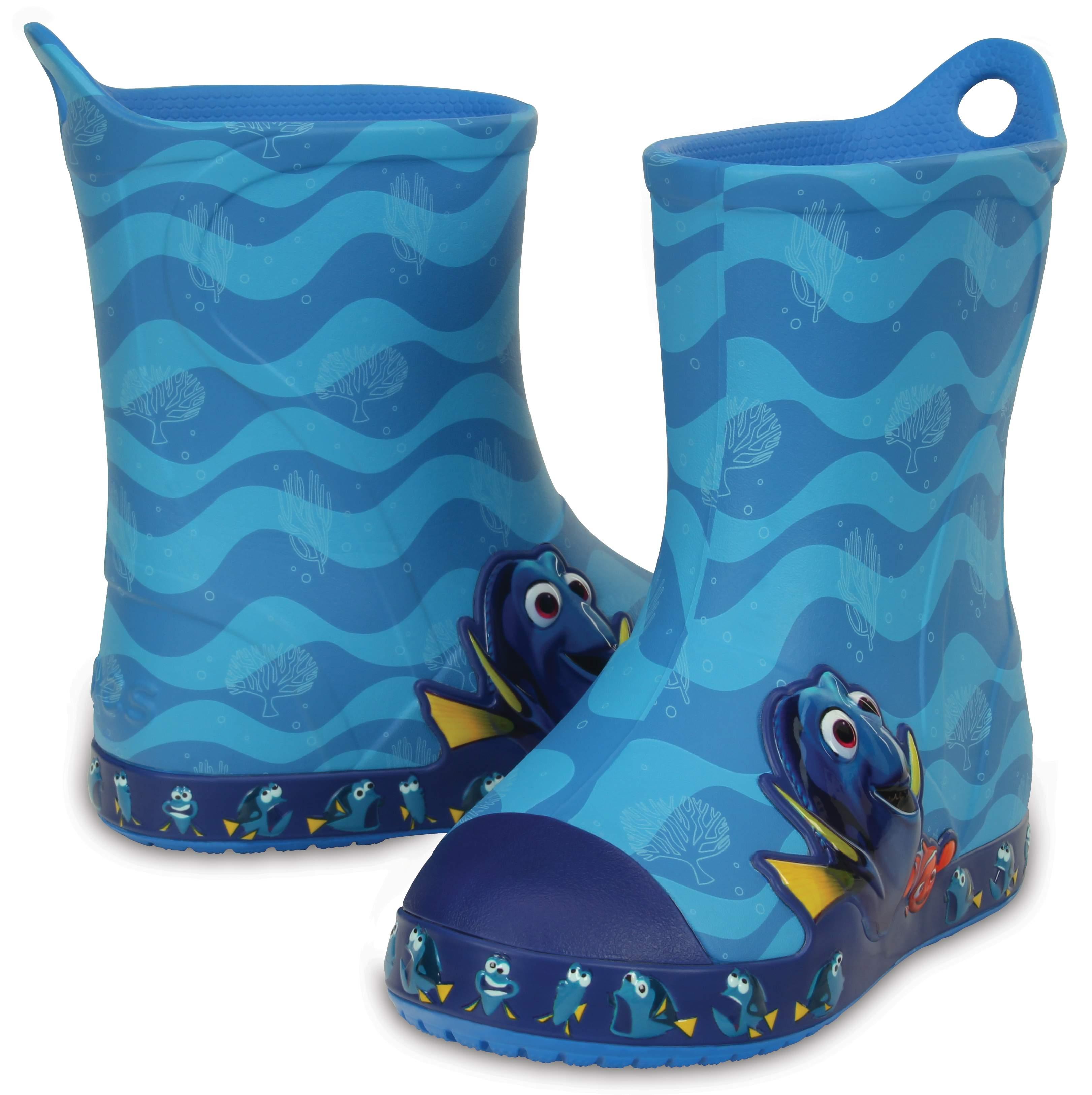 Kids Finding Dory Rain Boots | Crocs