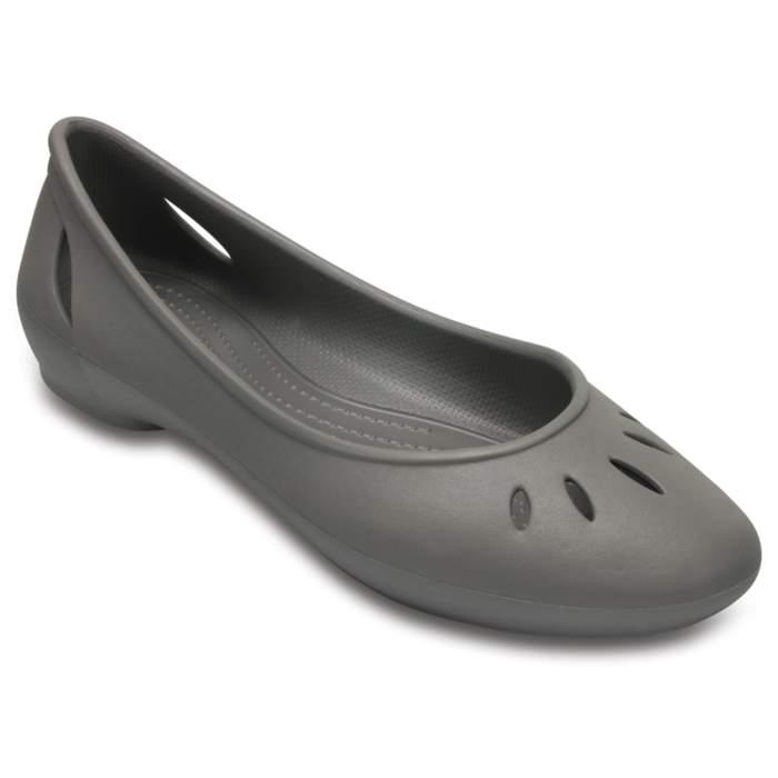 Crocs Women's Crocs Kelli Flats Gray