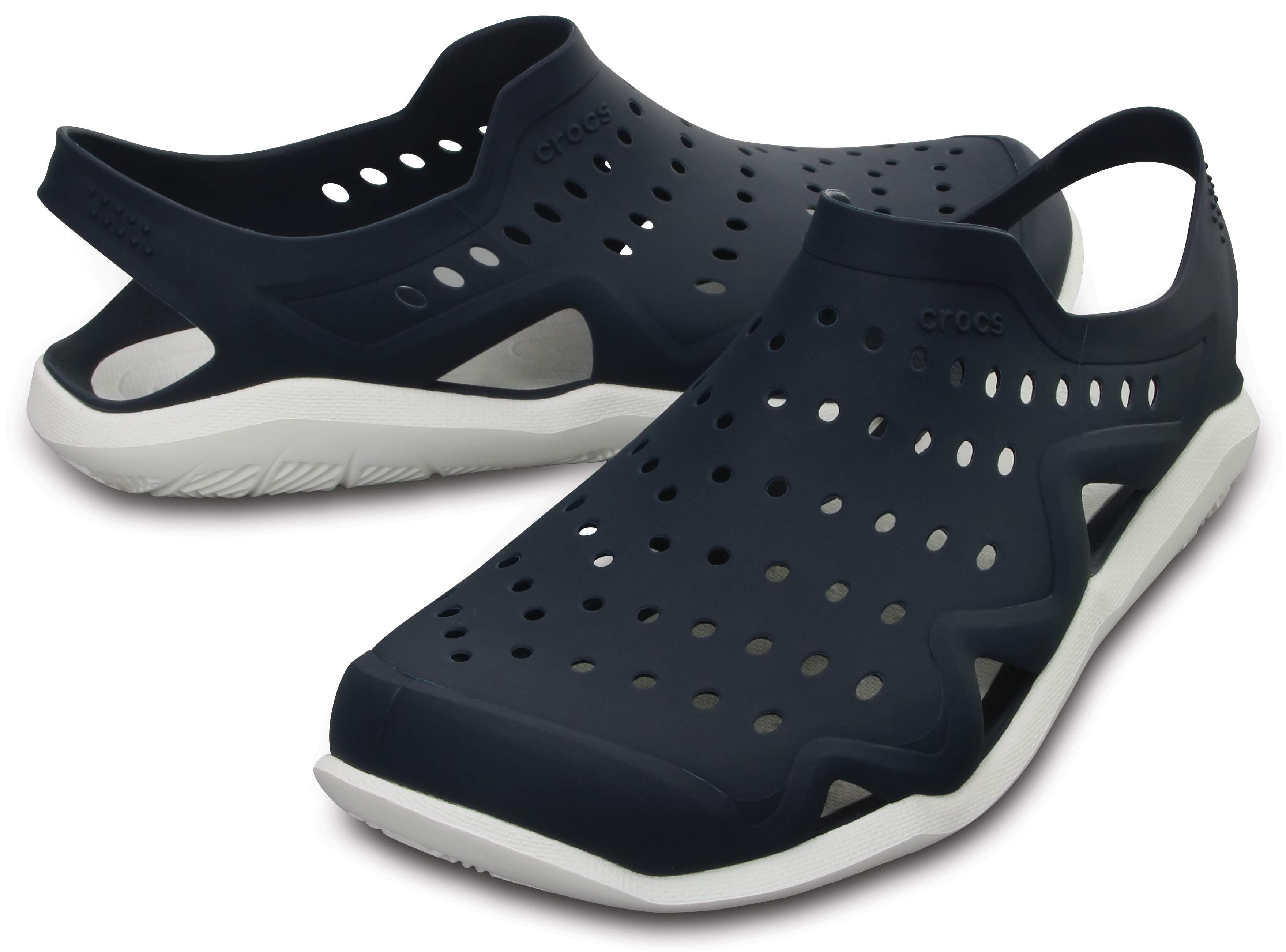 【クロックス公式】 スウィフトウォーター ウェーブ メン Men's Swiftwater Wave メンズ、紳士、男性用 ブルー/青 25cm,26cm,27cm,28cm shoe 靴 シューズ