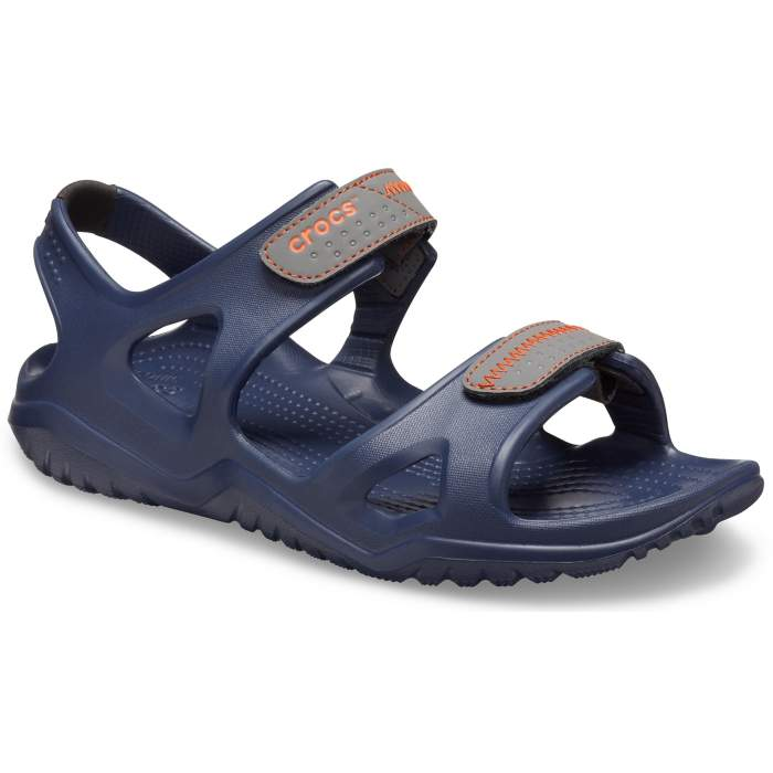 Crocs Swiftwater™ River Sandalen Herren Navy/Slate Grey 43