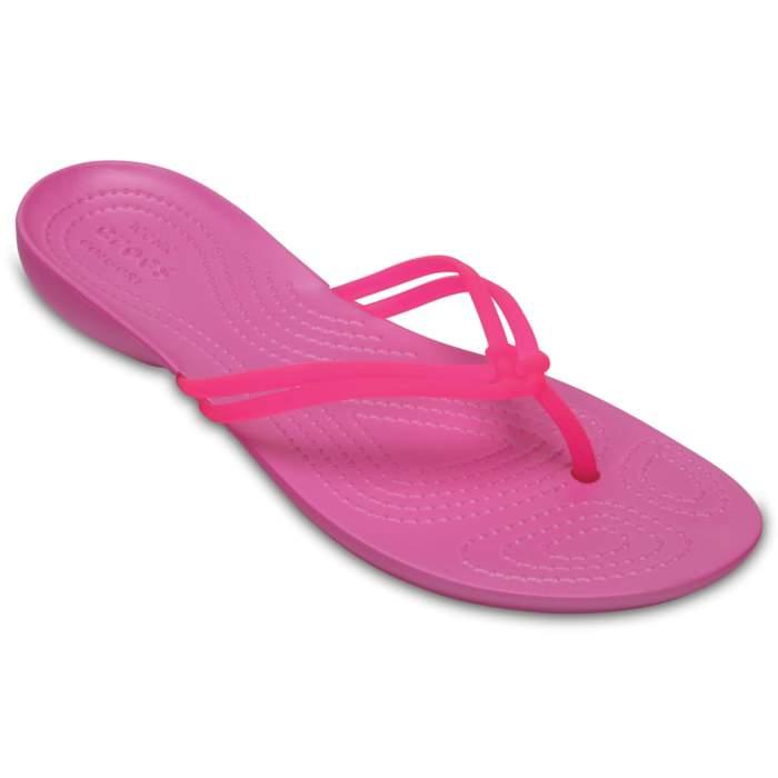 Crocs Women's Crocs Isabella Flip Vibrant Pink / Party Pink