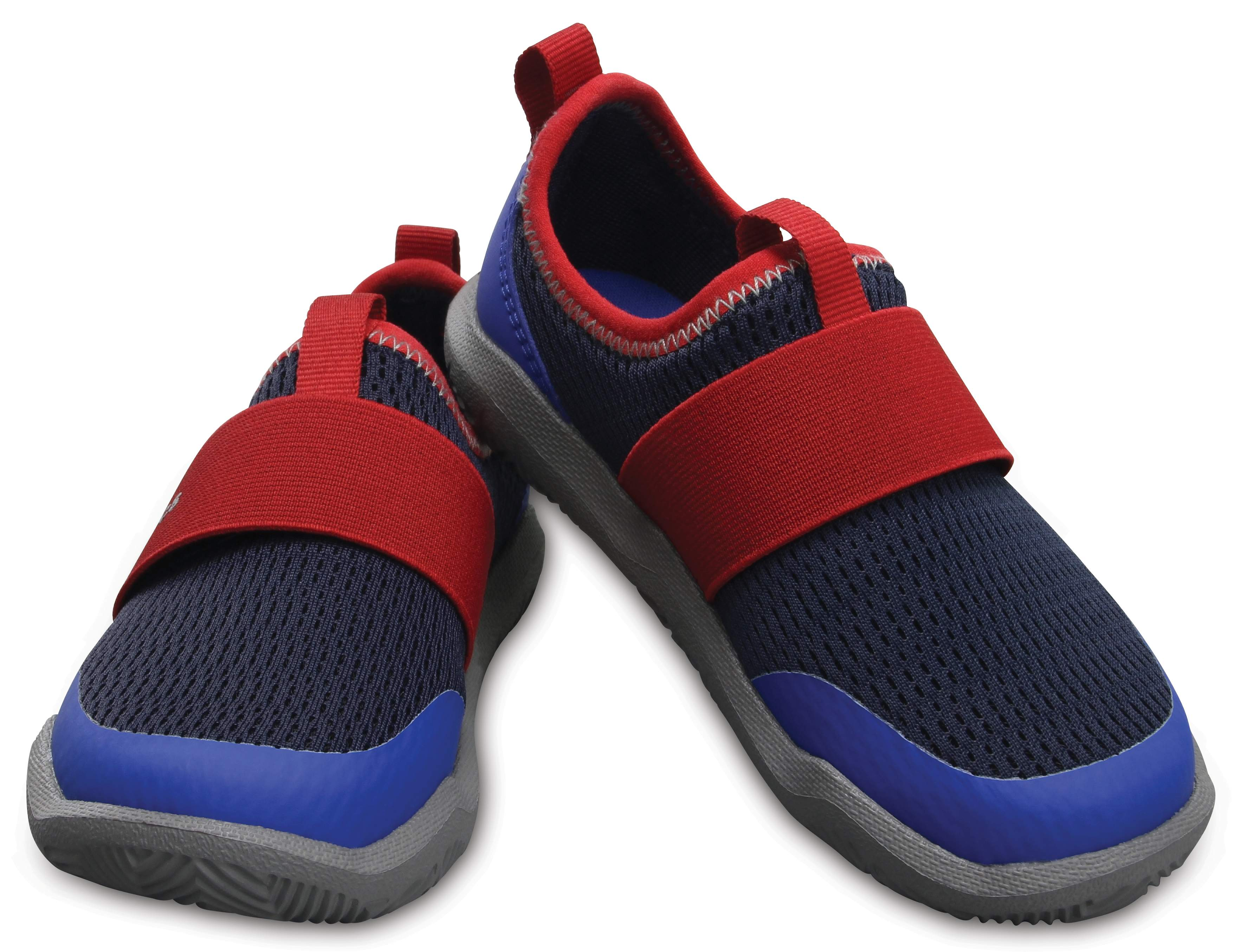 Crocs Kids' Swiftwater Easy-On Shoes Blue 204022-4CC