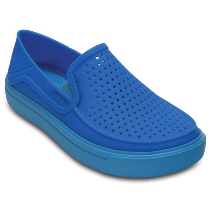 Crocs Kids' CitiLane Roka Slip-On Blue