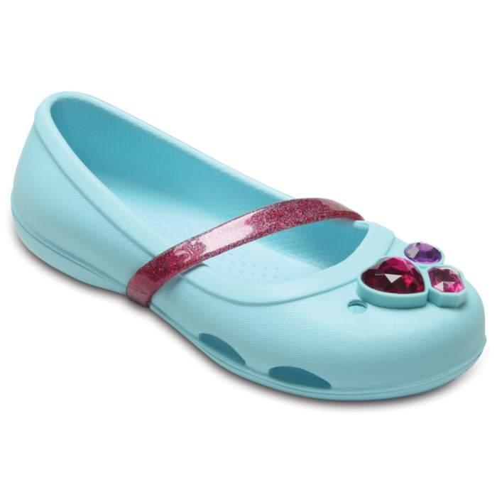 Crocs Kids' Crocs Lina Flat Light Blue