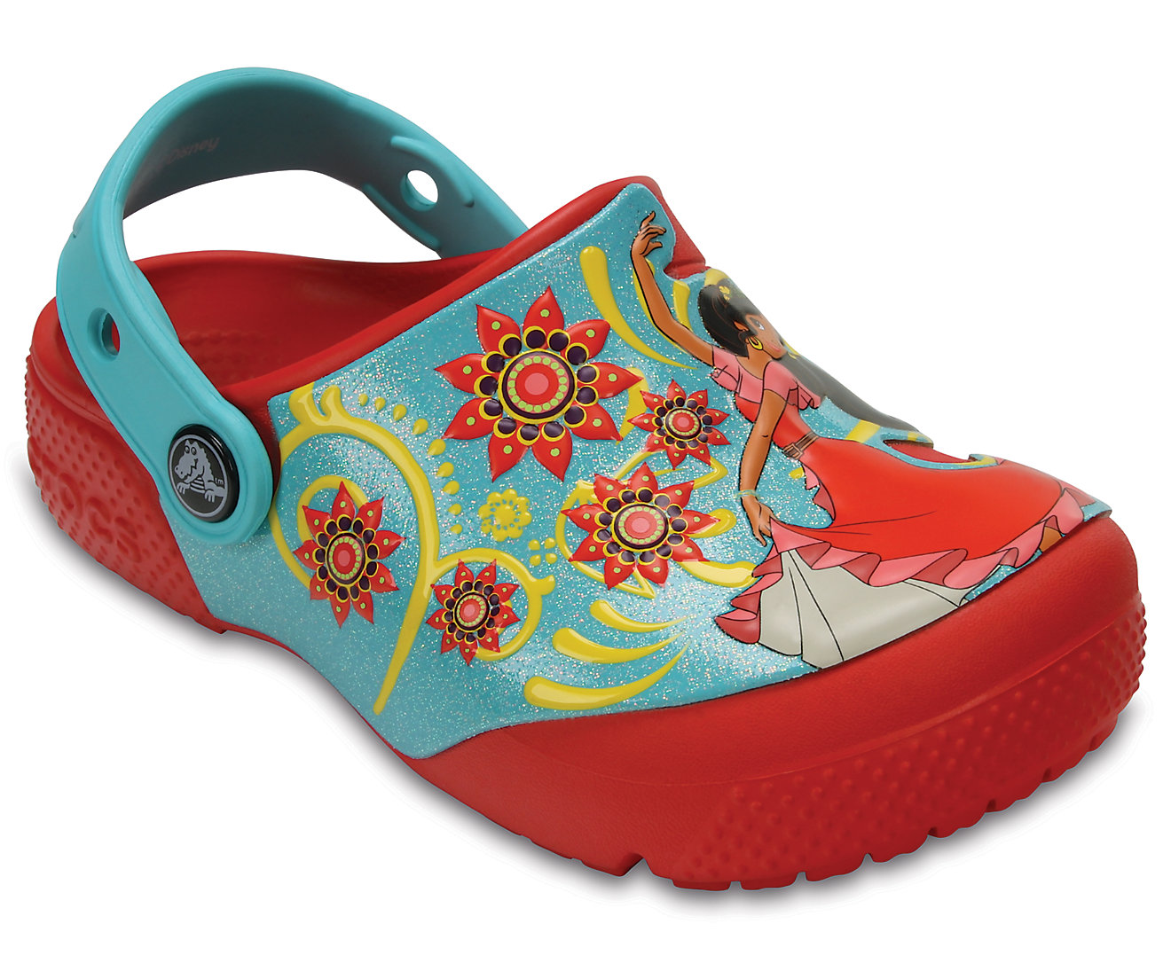 Kids' Crocs Fun Lab Elena of Avalor™ Clogs
