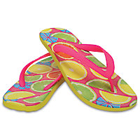 Crocs Unisex Chawaii Fruit Flip Flops