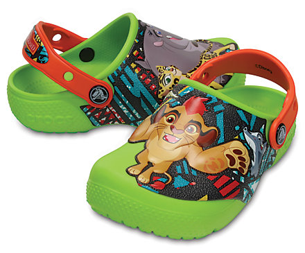 Kids' Crocs Fun Lab Lion Guard™ Clogs