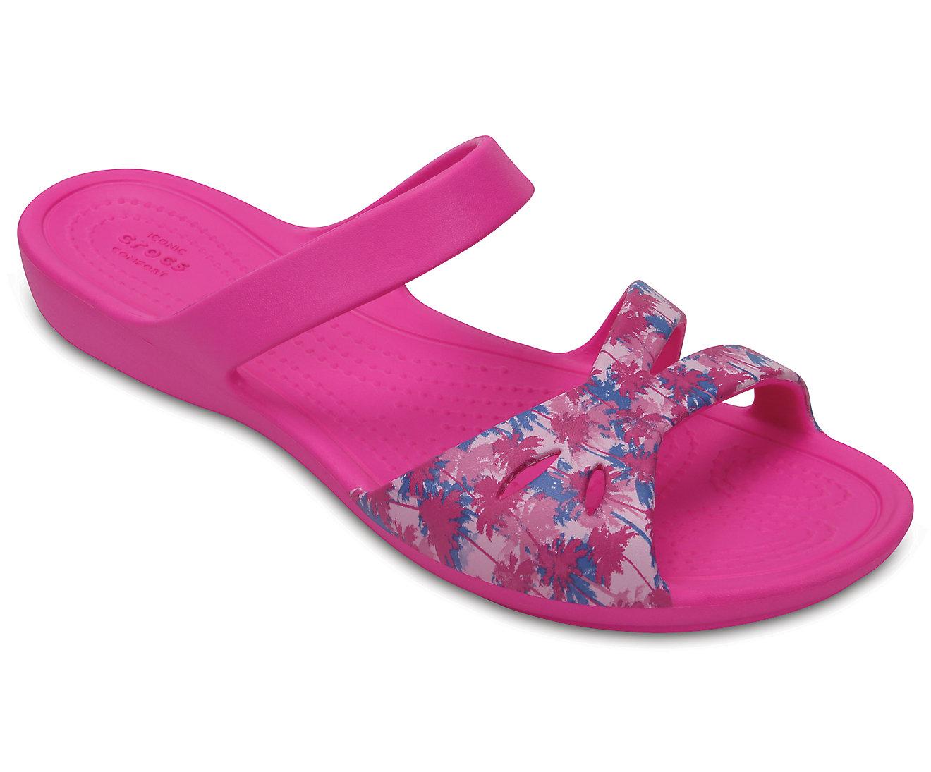 Women's Crocs Kelli Graphic Sandals