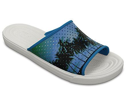 Men's CitiLane Roka Tropical Graphic Slides