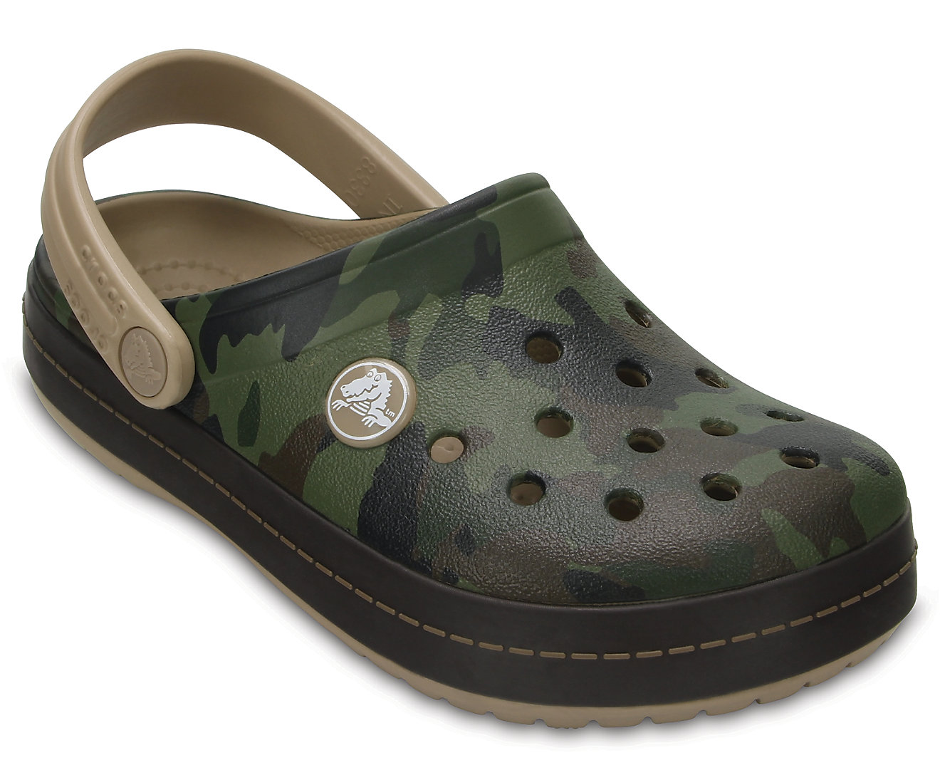 Kids' Crocband™ Graphic Clogs