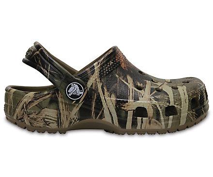 crocs realtree