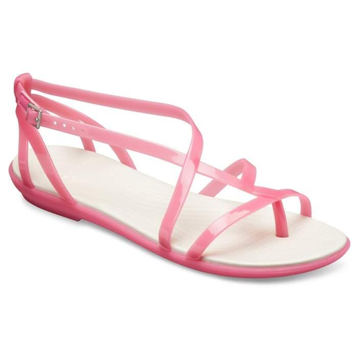 b241fa352cdd Crocs Paradise Pink Oyster Women s Crocs Isabella Gladiator Sandals