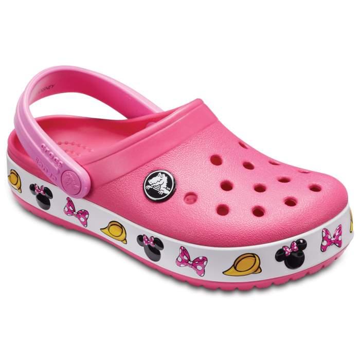 c2823eb236206e Crocs Paradise Pink Kids  Crocband Minnie Mouse Clog