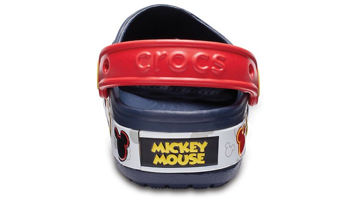 Crocs Kids Crocband™ Mickey Mouse Fun Lab Lights Clog